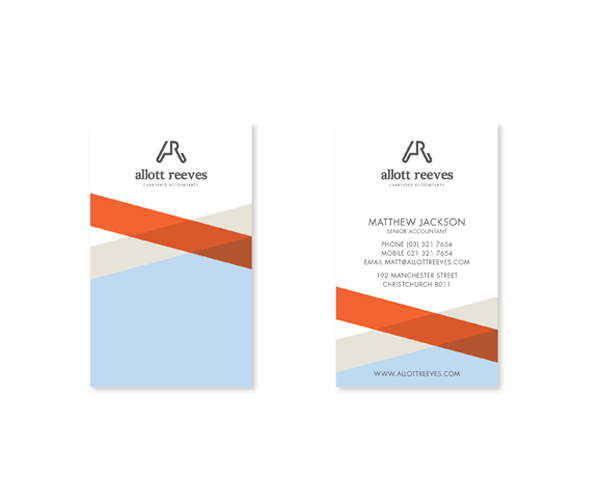 Allott Reeves business card