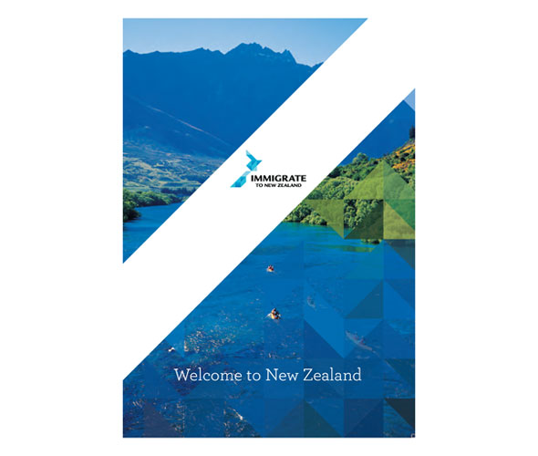 Immigrate to New Zealand brochure